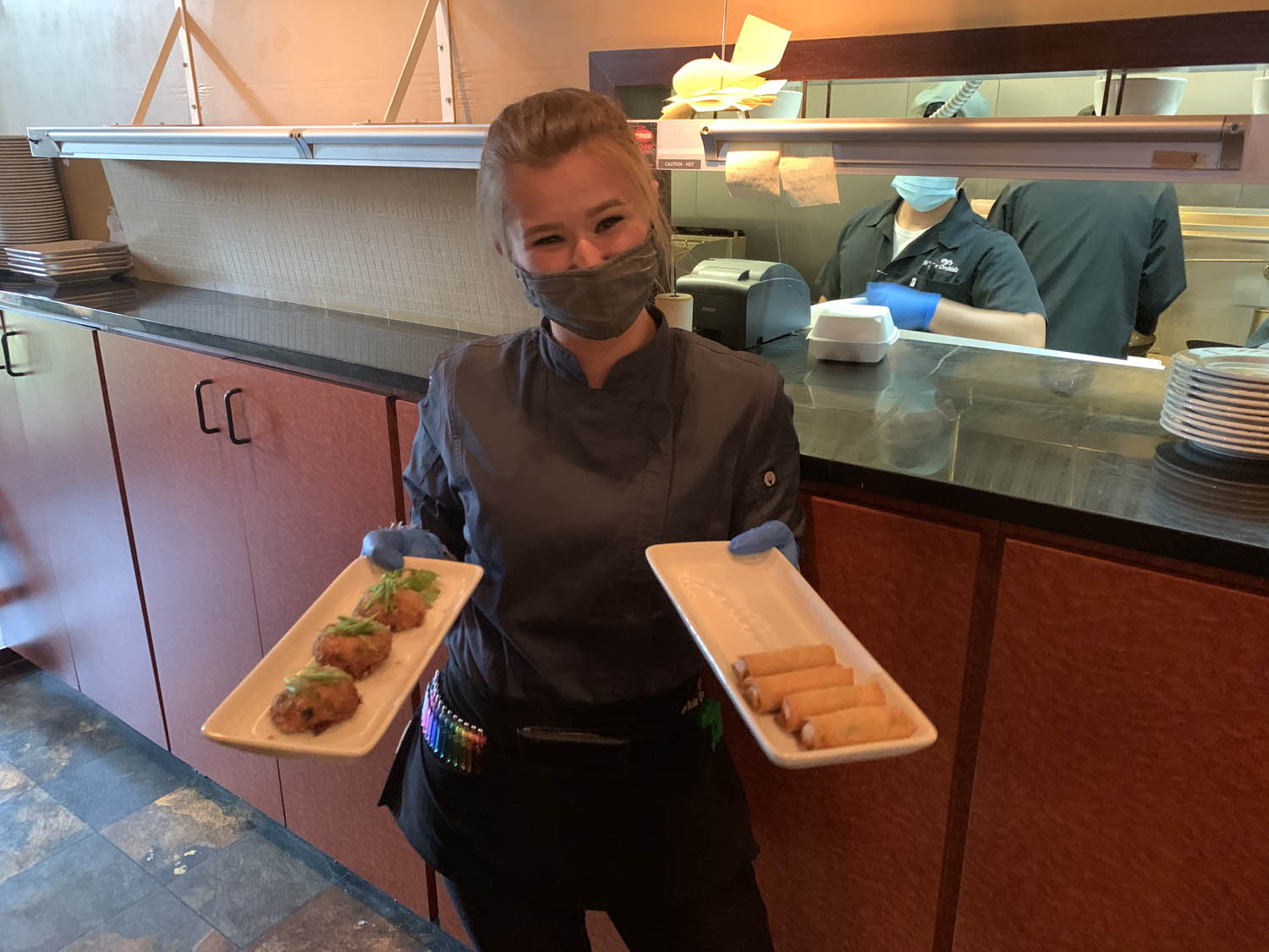 Waitress with Apps